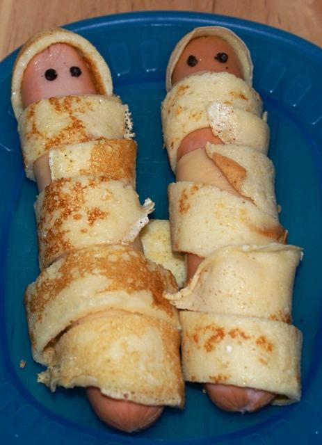 Halloween... zapraszamy na mumie :)
