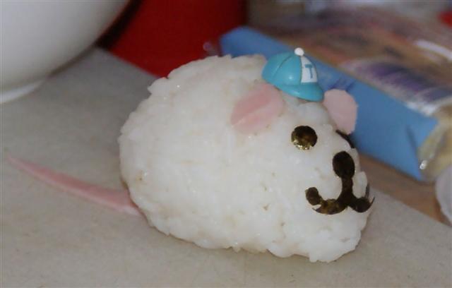Myszka z ryżu... już wiemy jak ją zrobić ;)