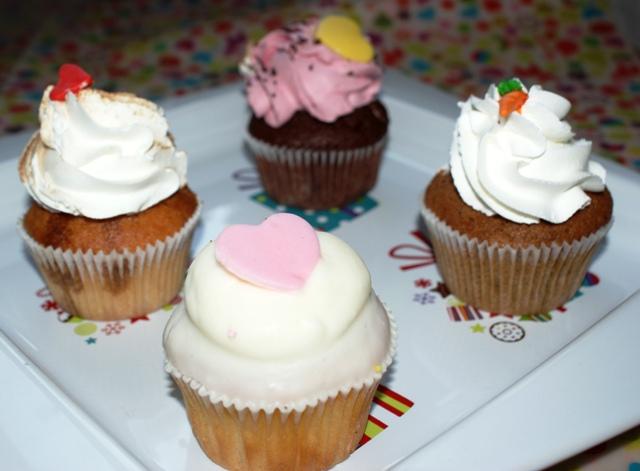 Cupcekes z Lola's Cupcakes