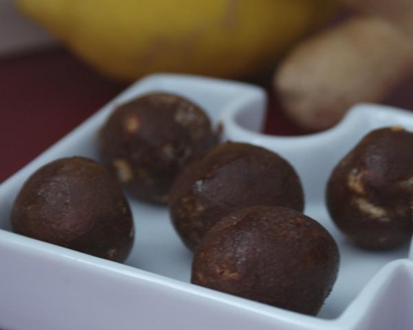 trufle czekoladowe imbir cytryna