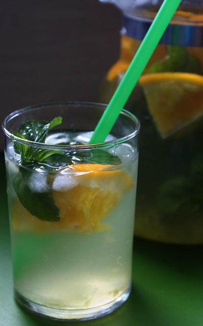 domowa lemoniada pomarańczowa przepis