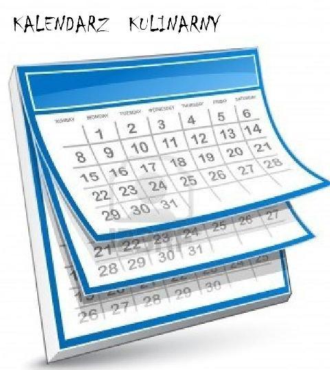 kalendarz kulinarny