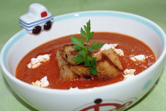 zupa pomidorowa paprykowa pieczona papryka