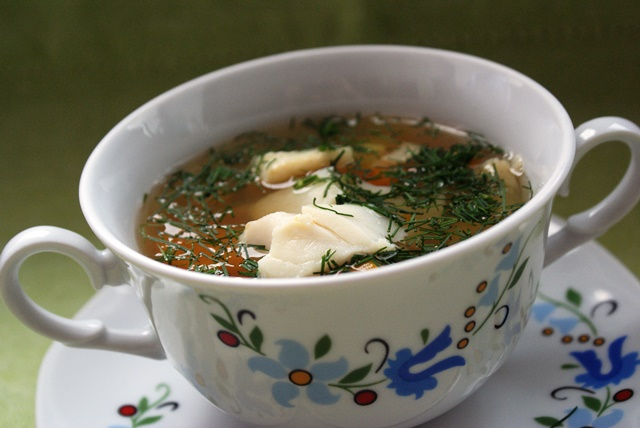 zupa rybna przepis kuchnia kaszubska