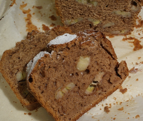 ciasto z banami czekoladowe