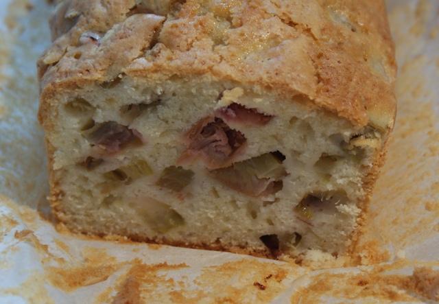 ciasto z rabarbarem najłatwiejsze ciasto proste