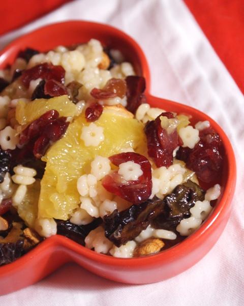 sałatka makaronowa na święta owocowa