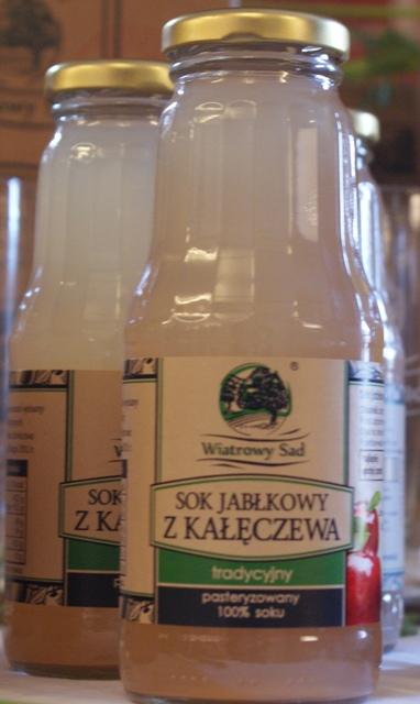 sok jabłkowy wiatrowy sad