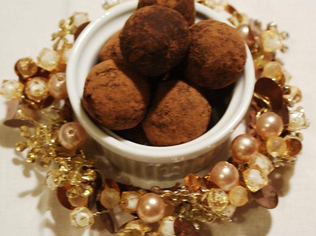 trufle domowe słodycze vege